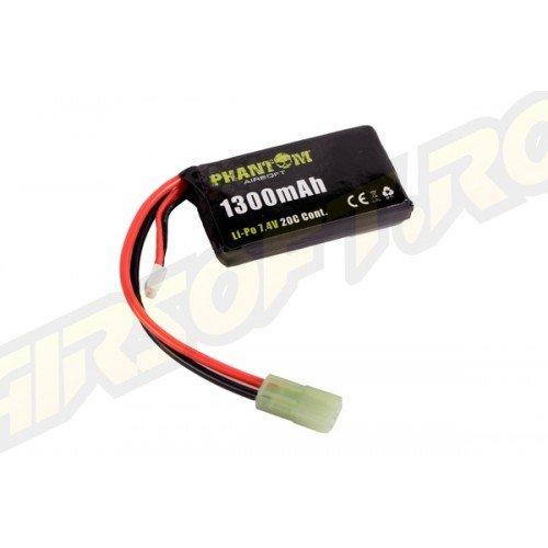 ACUMULATOR LI-PO 7.4V - 1300MAH - 20C