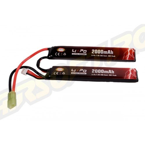 ACUMULATOR LI-PO ULTRA POWER - 7.4V - 2000MAH - 20C - 40C PEAK