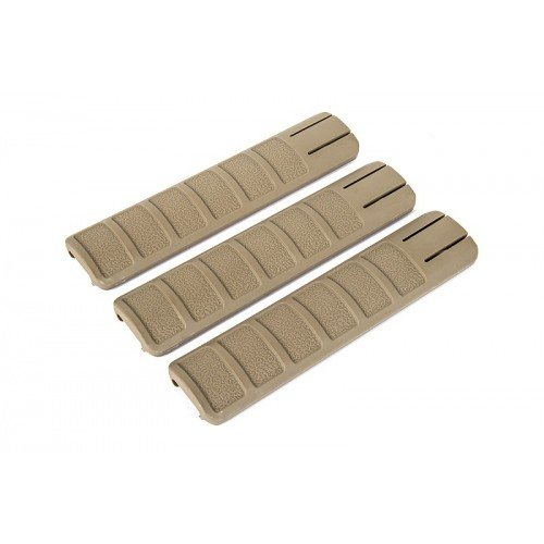 RAIL GRIP 156MM - FDE - SET DE 3 BUC.