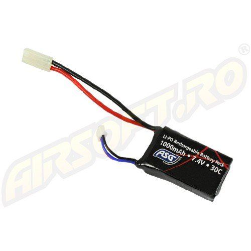 LIPO - ACUMULATOR 7.4V - 1000 MAH - MINI-TYPE