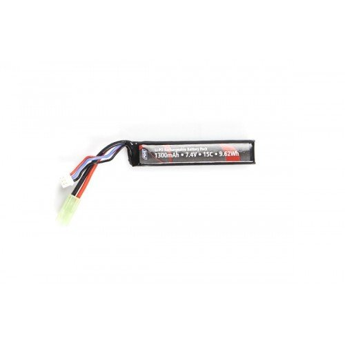 ACUMULATOR LI-PO 7.4V - 1300 MAH - 15C - STICK MINI TYPE