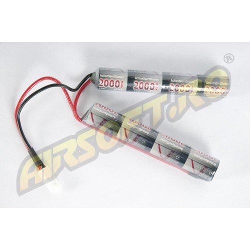NIMH - ACUMULATOR 9.6V - 2000 MAH - MINI-TYPE
