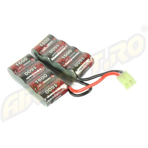 NIMH - ACUMULATOR 9.6V - 1600 MAH - MINI-TYPE - G26
