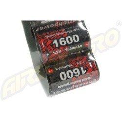 NIMH - ACUMULATOR 9.6V - 1600 MAH - MINI-TYPE - G26