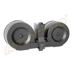 TWIN DRUM MAGAZINE - 1200 BILE - M4 PATRIOT - HIGH CYCLE