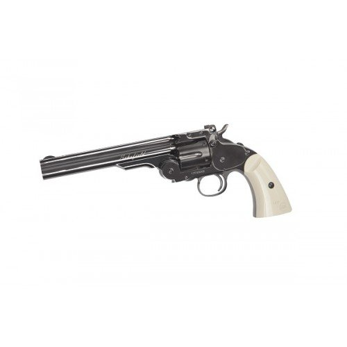 REVOLVER SCHOFIELD 6 INCH - CAL. 4.5MM - GNB - CO2 - STEEL