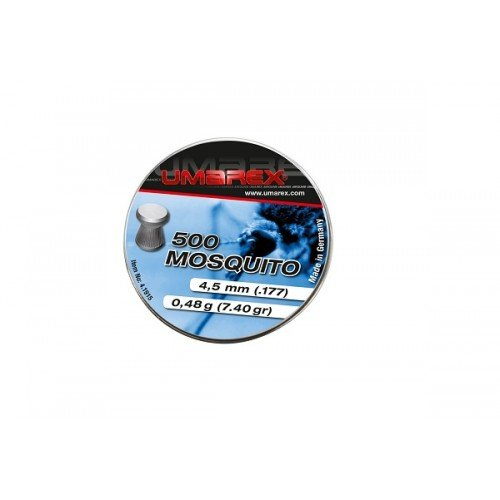 PELLETE MOSQUITO CALIBRUL 4.5 MM - 0.48G - 500 BUC