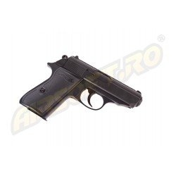 WALTHER PPK/S - ARC - METAL SLIDE - BLACK