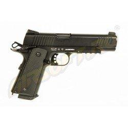 ELITE FORCE 1911 TAC - FULL METAL - GBB - CO2 - BLACK