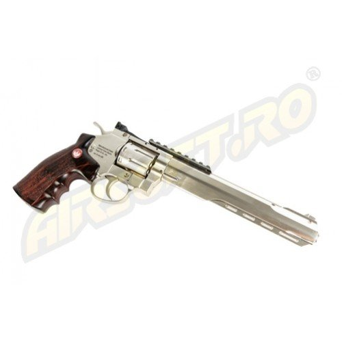 RUGER SUPER HAWK 8 INCH - FULL METAL - GNB - CO2 - SILVER