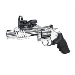 REVOLVER DAN WESSON - MODEL 715 - 6 INCH - SILVER - FULL METAL - GNB - CO2 - LOW POWER SPECIAL VERSION