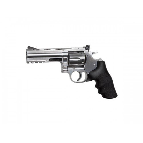 REVOLVER DAN WESSON - MODEL 715 - 4 INCH - SILVER - FULL METAL - GNB - CO2