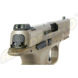 MP9 - SMITH   WESSON - V-CUSTOM - FDE - GBB