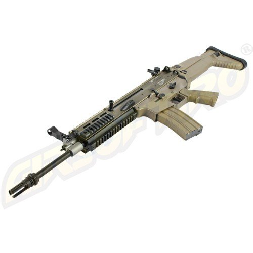 SCAR-L MK.16 MOD.0 - RECOIL SHOCK - NEXT GENERATION - BLOW-BACK - FDE