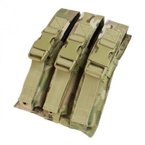 PORT INCARCATOR TRIPLU PENTRU MP5 - MULTICAM