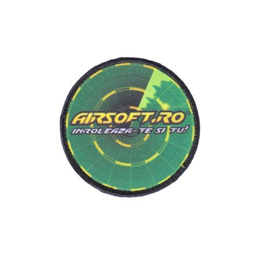 PATCH AIRSOFT.RO - ROTUND