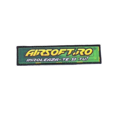 PATCH AIRSOFT.RO - DREPTUNGHIULAR