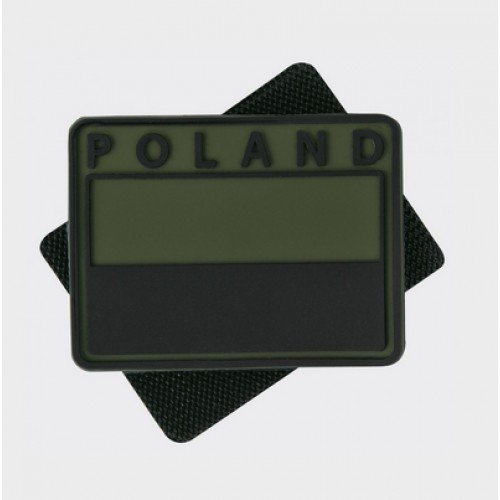 PATCH POLONIA - PVC - OLIVE GREEN