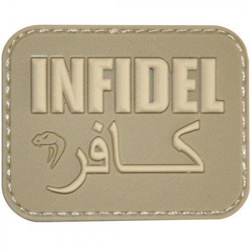 PATCH MESAJ - INFIDEL - MULTICAM