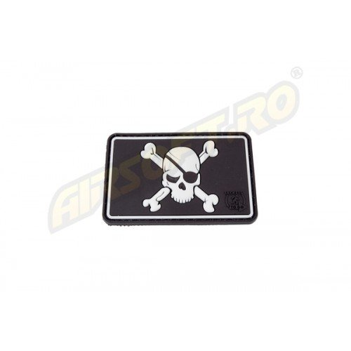 PATCH CAUCIUC - PIRATE SKULL - SWAT