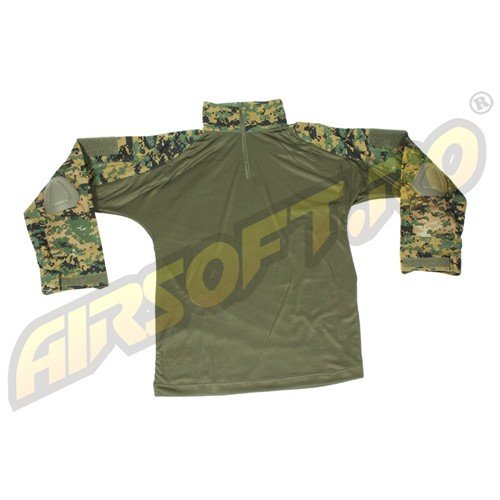 BLUZA MODEL WARRIOR WOODLAND DIGITAL
