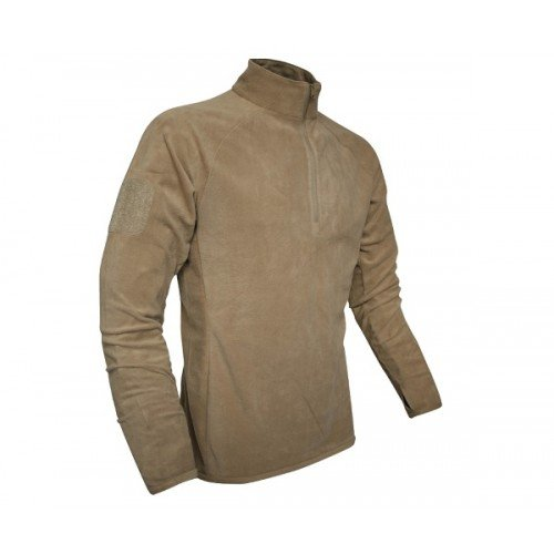 PULOVER FLEECE MID - LAYER - COYOTE