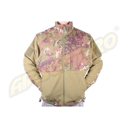 JACHETA FLEECE R/S VEGETATO W/L
