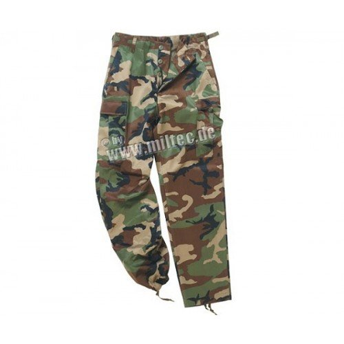 PANTALONI MODEL US - BDU RANGER (WOODLAND)