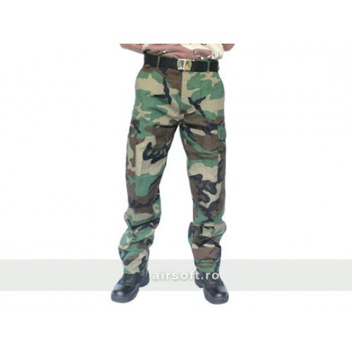 PANTALONI MODEL RIPSTOP (WOODLAND)