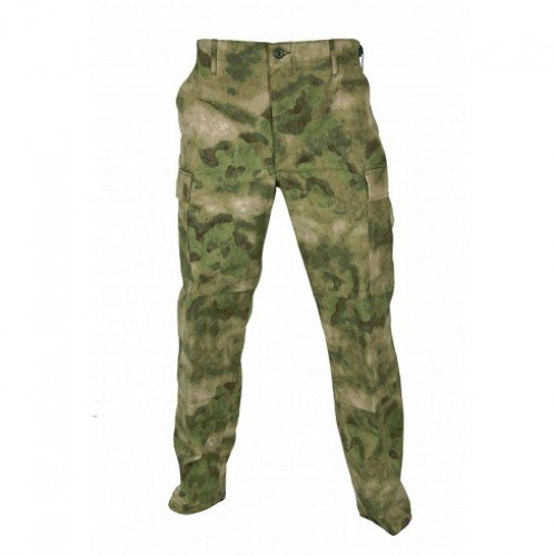 PANTALONI RIPSTOP ACU A-TACS - FOREST GREEN