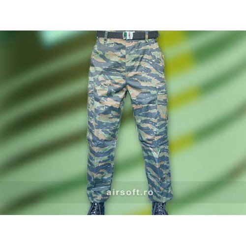 PANTALONI MODEL US BDU FIELD (TIGER STRIPE)