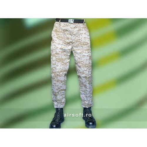 PANTALONI MODEL US BDU FIELD (DESERT DIGITAL)