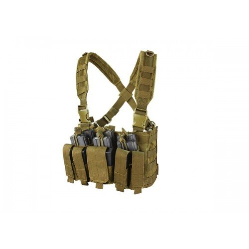 VESTA TACTICA - RECON CHEST RIG - COYOTE BROWN