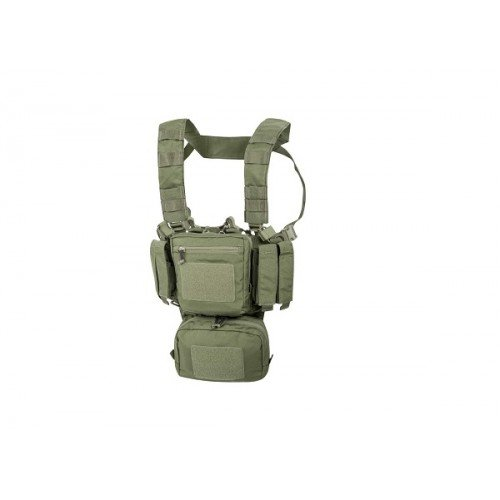 VESTA TACTICA MODEL GUARDIAN CHEST RIG - OLIVE GREEN