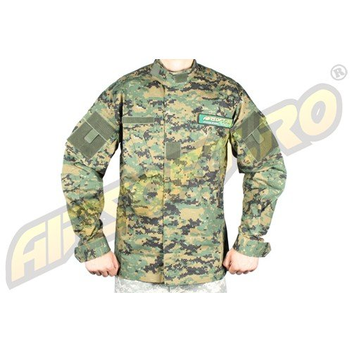 VESTON ORIGINAL MODEL RIPSTOP ACU-WOODLAND DIGITAL