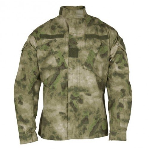 VESTON RIPSTOP ACU A-TACS - FOREST GREEN