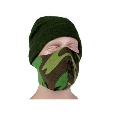 MASCA DE PROTECTIE DIN NEOPREN - NEGRU / WOODLAND