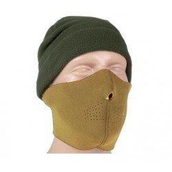 MASCA DE PROTECTIE DIN NEOPREN - NEGRU / COYOTE
