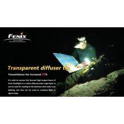 VARF CONIC DIFUZOR TRANSPARENT PENTRU SERIILE LD/PD