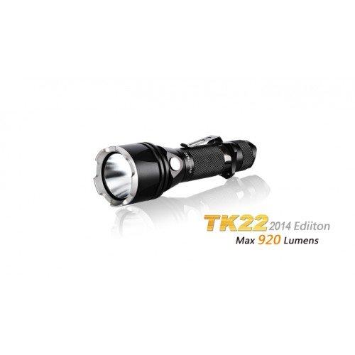 LANTERNA MODEL TK22 XM-L2 U2 - MODEL 2014 - NEGRU