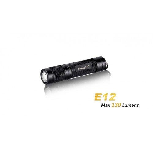 LANTERNA MODEL E12 XP-E2 - NEGRU