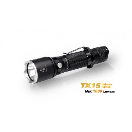 LANTERNA MODEL TK15 XP-L HI (V3) - ULTIMATE EDITION - BLACK