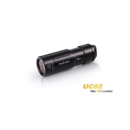 LANTERNA MODEL UC02 XP-G2 S2 - BLACK