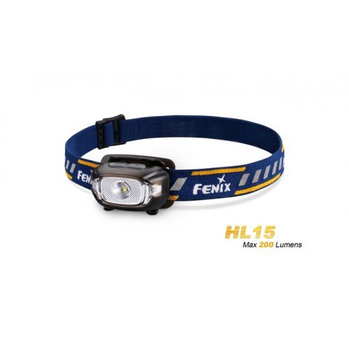 LANTERNA FRONTALA MODEL HL15 XP-G2 R5 - BLUE