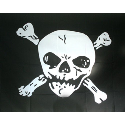 DRAPEL MODEL JOLLY ROGER