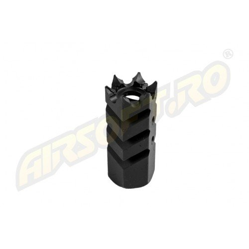 FLASH HIDER - SHARK - 14MM - CCW