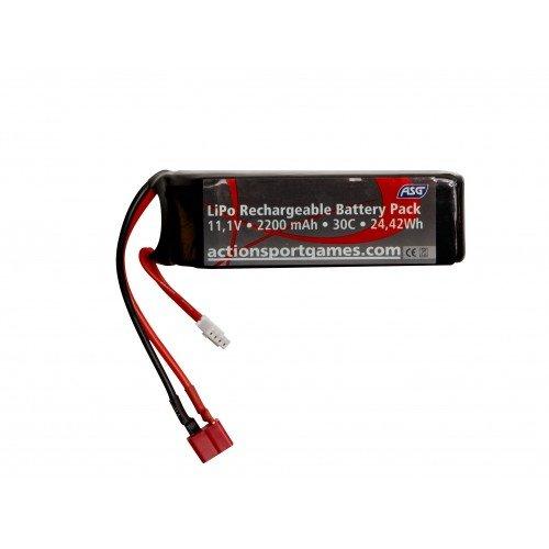 LI-PO - ACUMULATOR 11.1V - 2200 MAH - 30C - T-PLUG