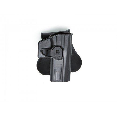 TEACA DIN POLYMER PENTRU CZ P-07 / CZ P-09 - BLACK