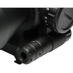 2.5-10X40 - BARRAGE RIFLESCOPE WITH RED LASER