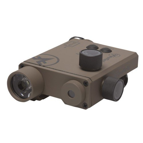 CHARGE XLT FLASHLIGHT AND GREEN LASER SIGHT - DARK EARTH